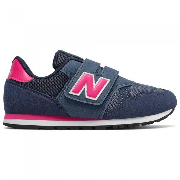 [해외]뉴발란스 373 Classic Wide Trainers 15137352445 Navy / Pink