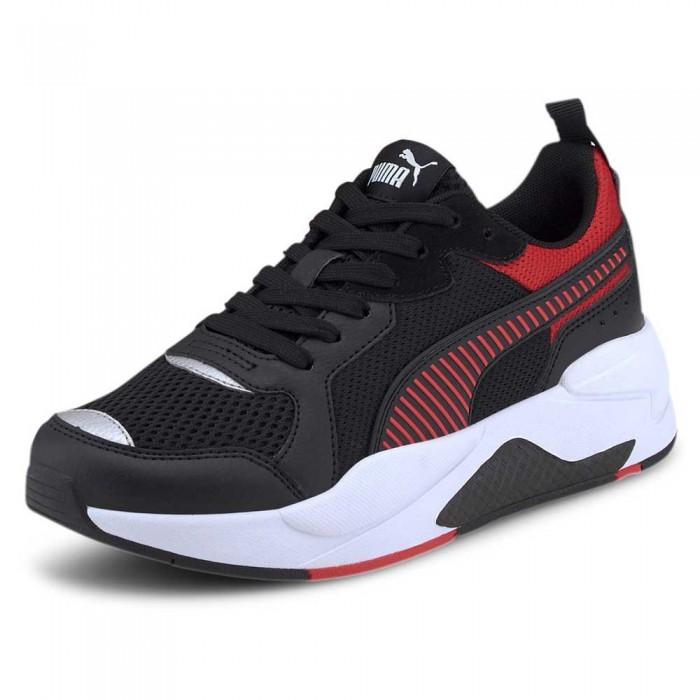 [해외]푸마 Ferrari Race X-Ray Trainers 15137609380 Puma Black / Rosso Corsa / Puma Black
