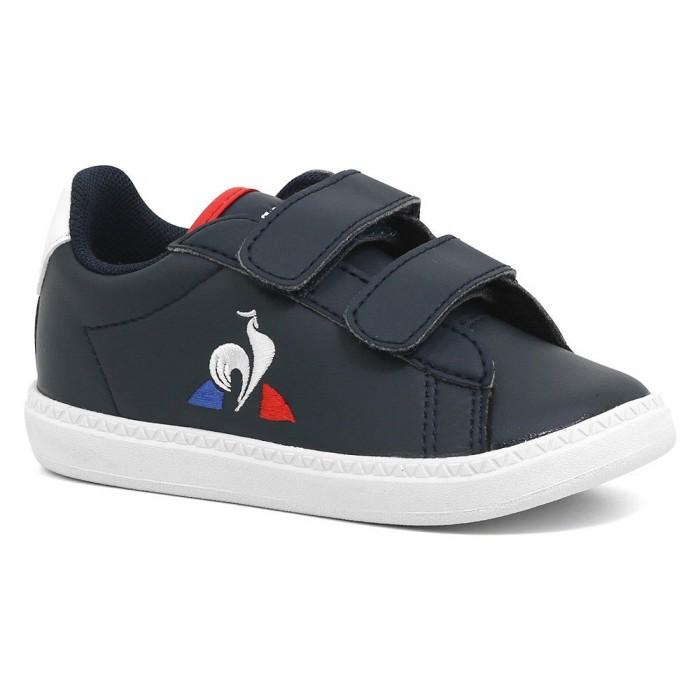 [해외]르꼬끄 Courtset Infant Trainers 15137624316 Dress Blue / Optical White