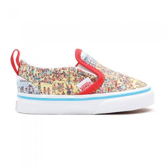 [해외]반스 V Toddler Slip On Shoes 15137881875 Where´S Waldo? Fndstvbch