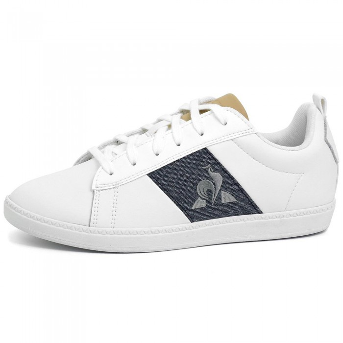 [해외]르꼬끄 Court Classic GS Trainers 15137890979 Optical White / Dress Blue