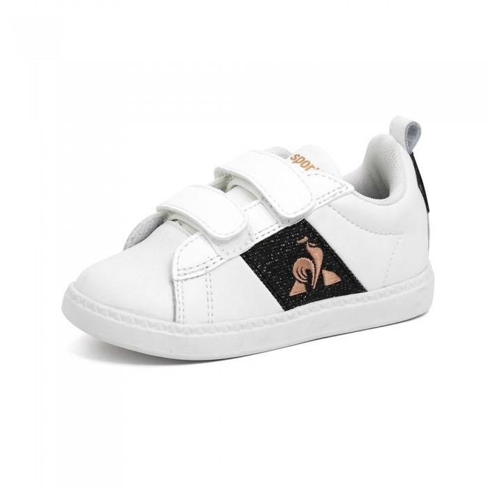 [해외]르꼬끄 Court Classic Infant Trainers 15137890994 Optical White / Black