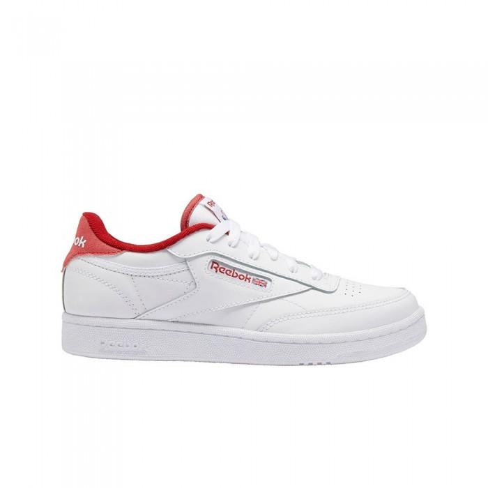 [해외]리복 CLASSICS Club C 85 Junior Trainers 15137921215 White / Mars Red / White