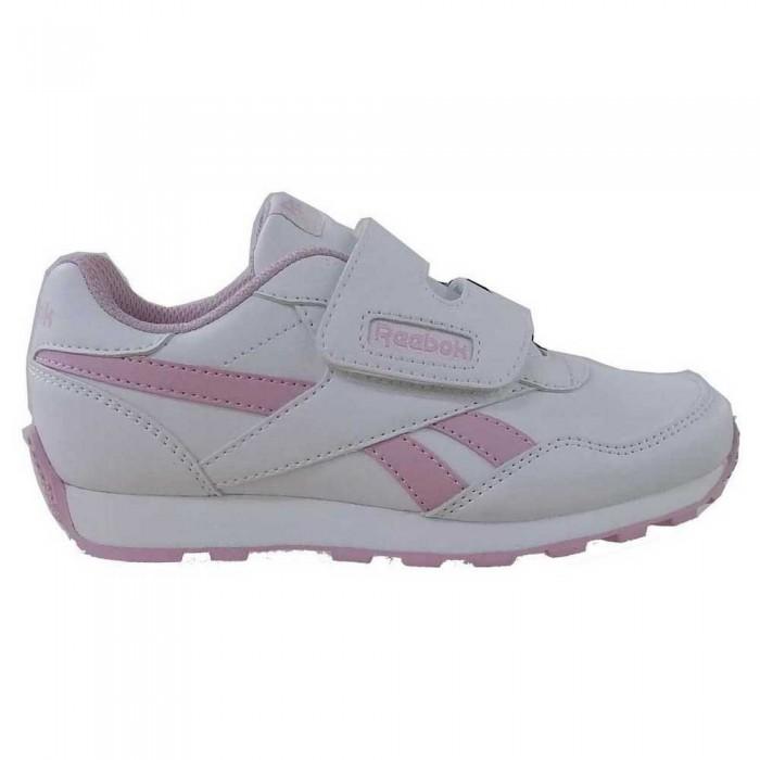 [해외]리복 Royal Rewind Run Velcro Trainers 15138117538 White / Classic Pink