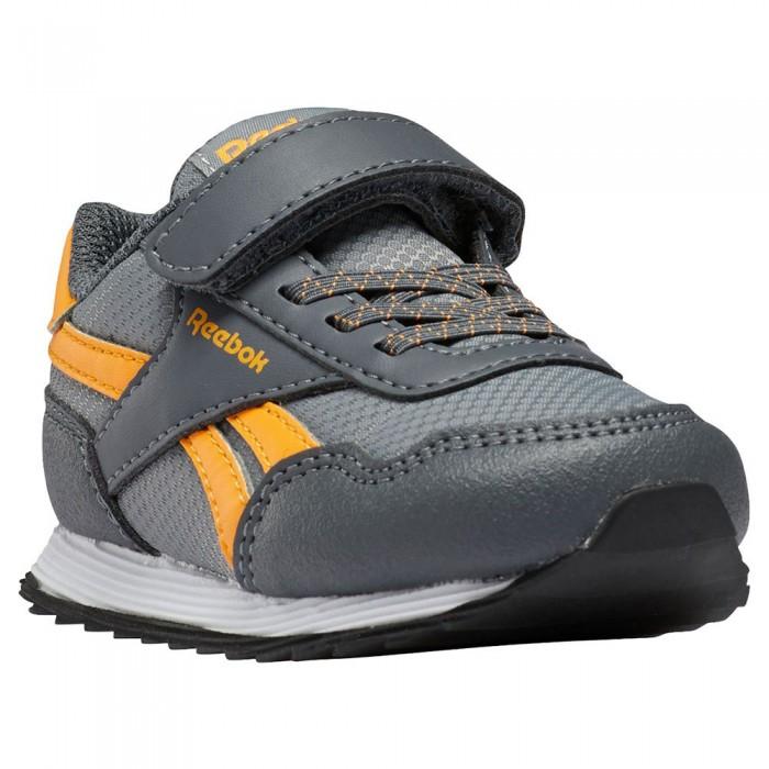 [해외]리복 Royal Cljog 3 1V Velcro Trainers Infant 15138117648 Pure Grey 5 / Pure Grey 7 / Solar Gold