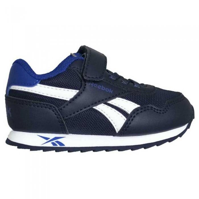 [해외]리복 Royal Cljog 3.0 1V Velcro Trainers Infant 15138117730 Vector Navy/Vector Blue/Ftwr White