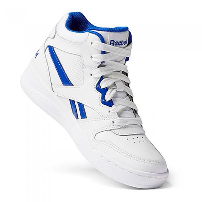 [해외]리복 BB4500 Court Trainers 15138117755 Ftwr White / Ftwr White / Bright Cobalt