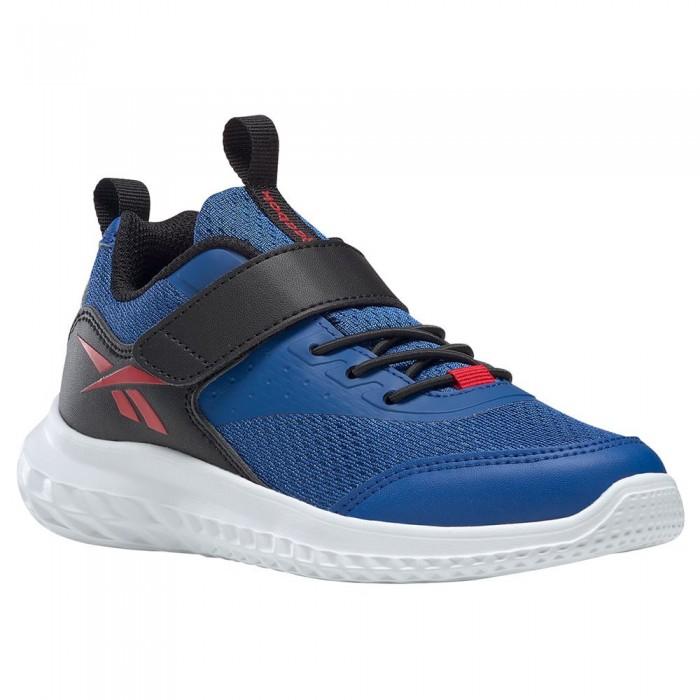 [해외]리복 Rush Runner 4.0 Trainers 15138118038 Vector Blue / Core Black / Vector Red