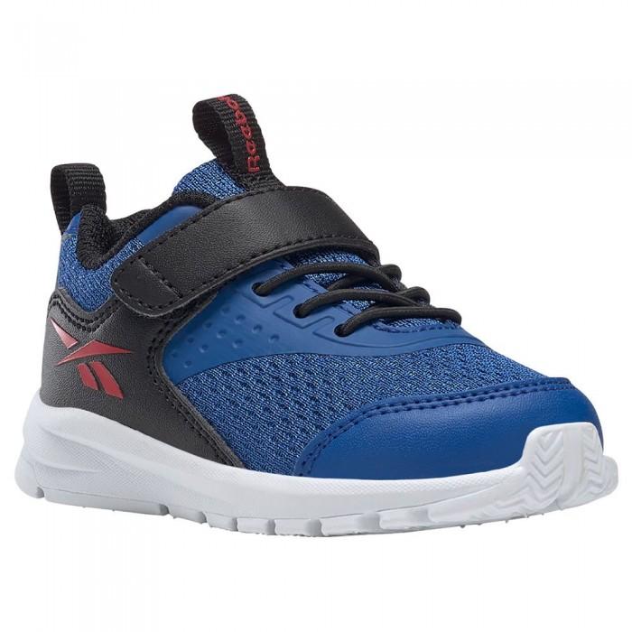 [해외]리복 Rush Runner 4.0 TD Velcro Trainers Infant 15138118043 Vector Blue/Core Black/Vector Red