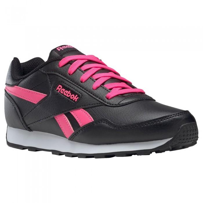 [해외]리복 Royal Rewind Run Trainers 15138118072 Black / Solar Pink / Solar Pink