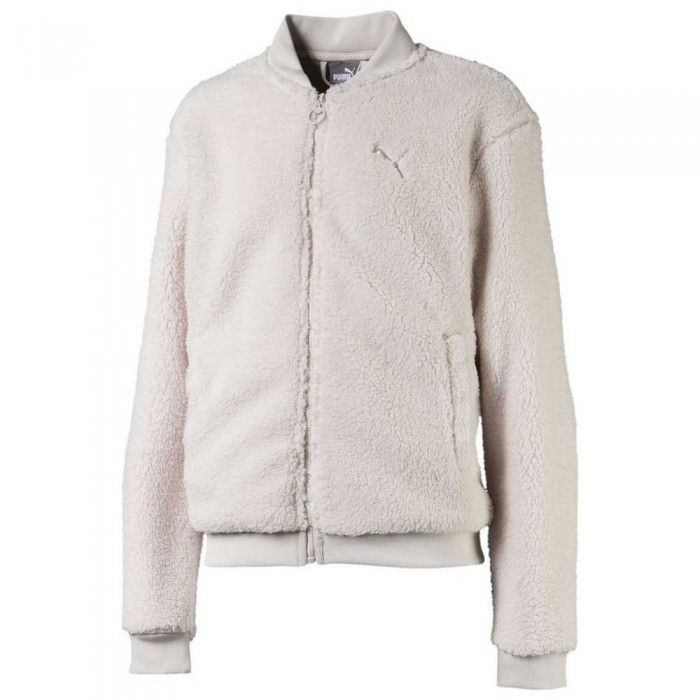 [해외]푸마 Alpha Sherpra Full Zip Sweatshirt 15137203392 Pastel Parchment