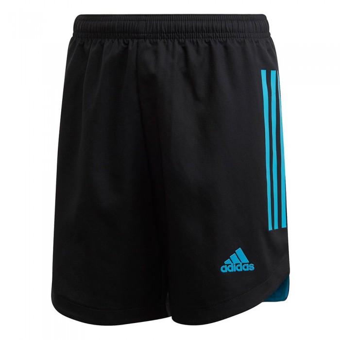 [해외]아디다스 Condivo 20 Short Pants 15137398664 Black / Bold Aqua