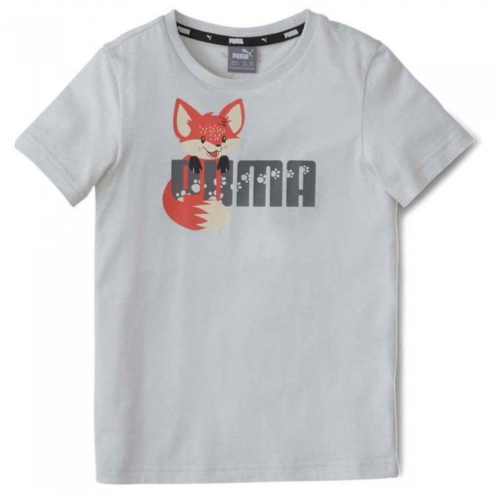 [해외]푸마 Animals Short Sleeve T-Shirt 15137610301 Vaporous Gray