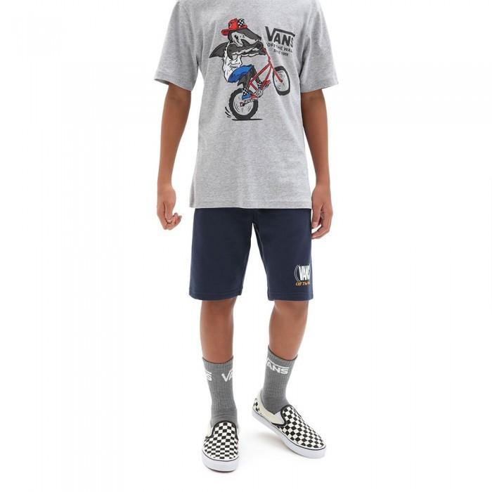 [해외]반스 Authentic Checker Shorts 15137882573 Dress Blues