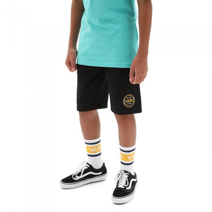 [해외]반스 Off The Wall FT Shorts 15137883129 Black