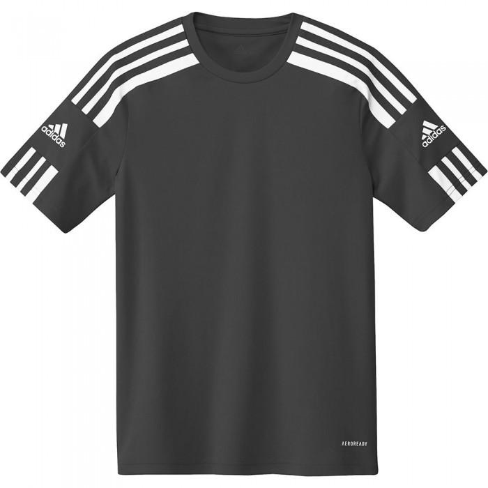 [해외]아디다스 Squadra 21 Short Sleeve T-Shirt 15137899680 Black / White
