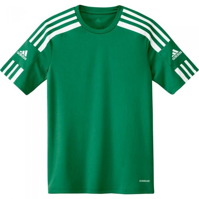 [해외]아디다스 Squadra 21 Short Sleeve T-Shirt 15137899683 Team Green / White