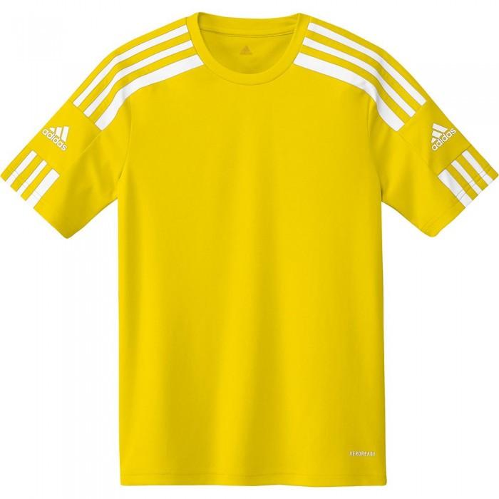 [해외]아디다스 Squadra 21 Short Sleeve T-Shirt 15137899684 Team Yellow / White