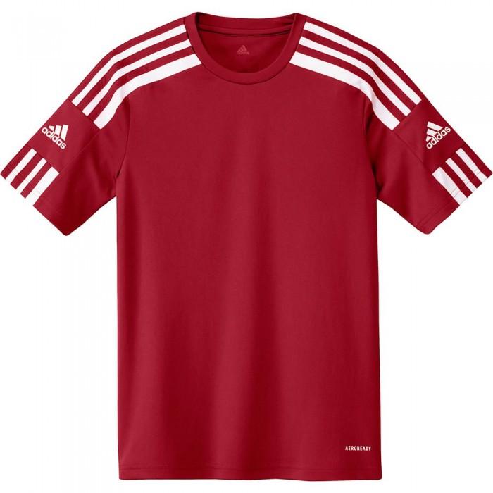 [해외]아디다스 Squadra 21 Short Sleeve T-Shirt 15137899686 Team Power Red / White