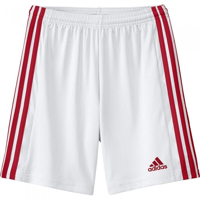 [해외]아디다스 Squadra 21 Short Pants 15137899690 White / Team Power Red