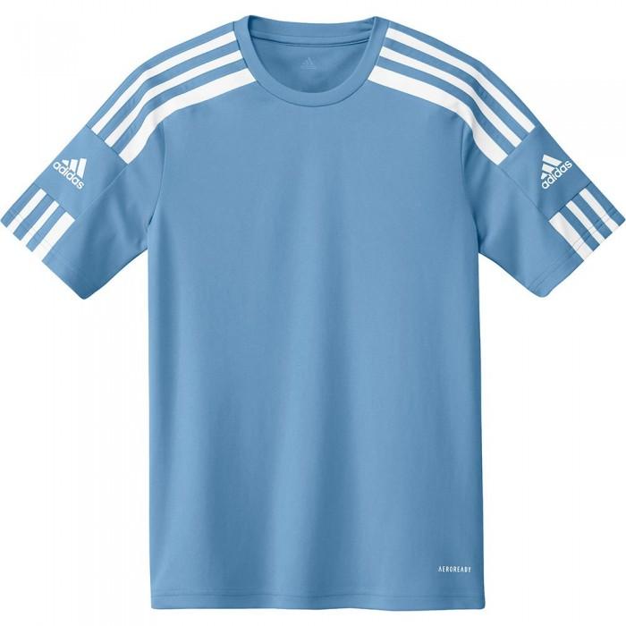 [해외]아디다스 Squadra 21 Short Sleeve T-Shirt 15137899727 Team Light Blue / White