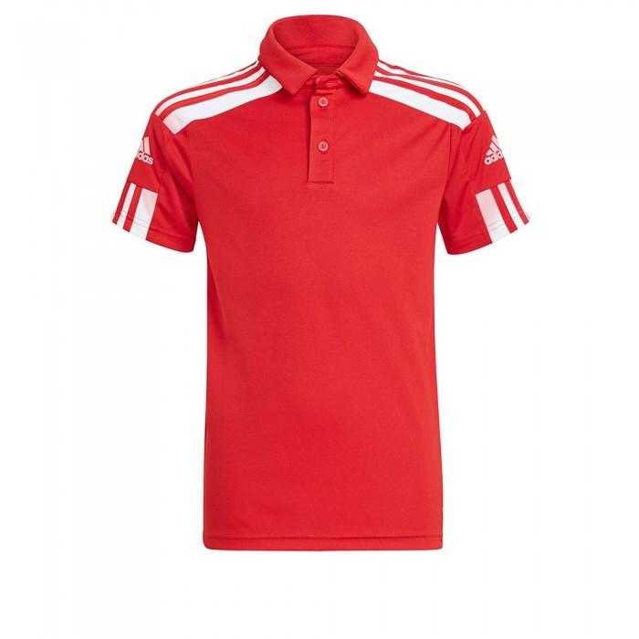 [해외]아디다스 Squadra 21 Short Sleeve Polo Shirt 15137899798 Team Power Red / White