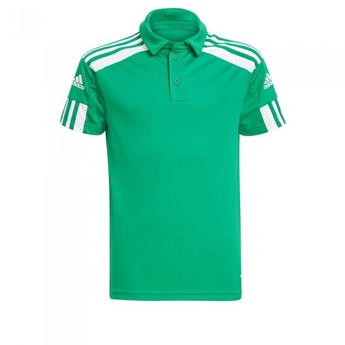 [해외]아디다스 Squadra 21 Short Sleeve Polo Shirt 15137899799 Team Green / White