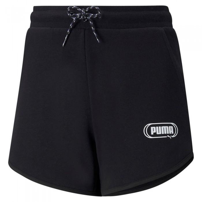 [해외]푸마 Rebel Shorts 15137920589 Puma Black