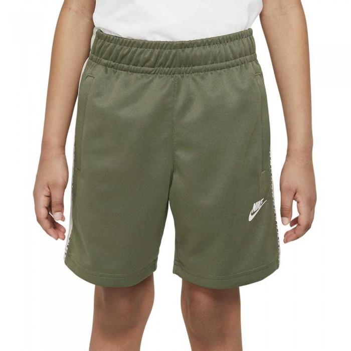 [해외]나이키 Sportswear Short Pants 15138031549 Medium Olive / Desert Sand / White