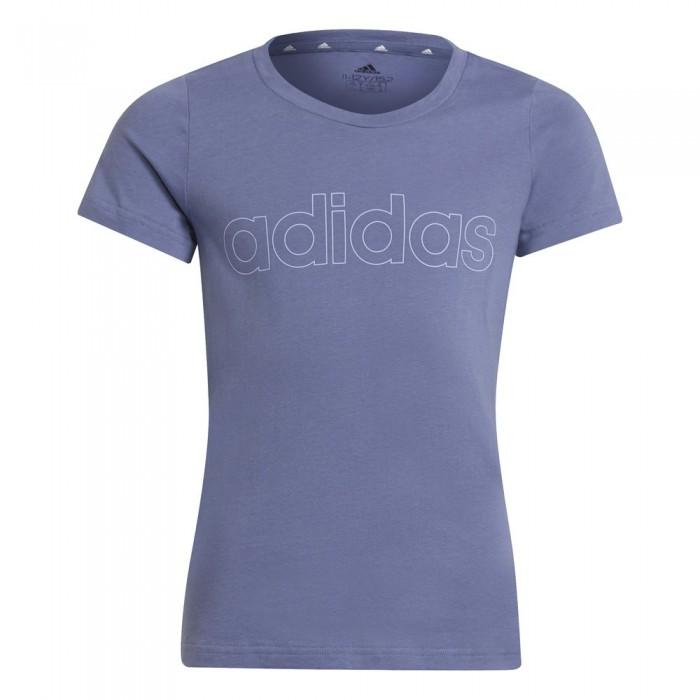 [해외]아디다스 Lin Short Sleeve T-Shirt 15138107895 Orbit Violet / Violet Tone