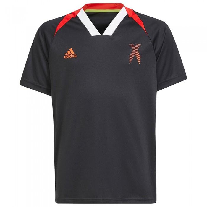 [해외]아디다스 AR X Shirt 15138109363 Black / Red / White
