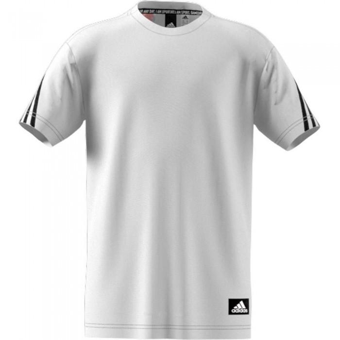 [해외]아디다스 Fi 3 Striker Short Sleeve T-Shirt 15138109767 White / Black