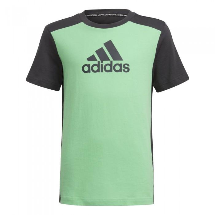 [해외]아디다스 Bos Short Sleeve T-Shirt 15138109836 Semi Screaming Green / Carbon
