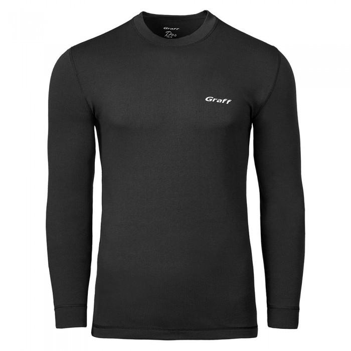 [해외]GRAFF Termo Active Duo Skin 200 Long Sleeve T-Shirt 8138132942 Graphite