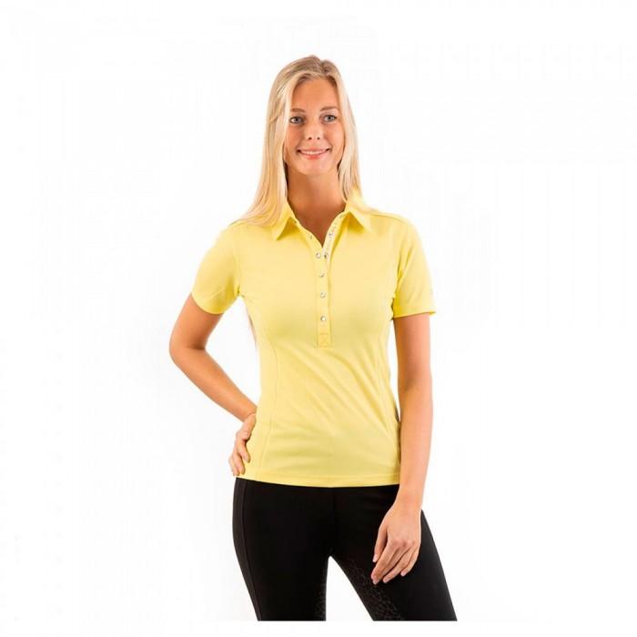 [해외]ANKY Essential Short Sleeve Polo Shirt 8138059646 Lime Light