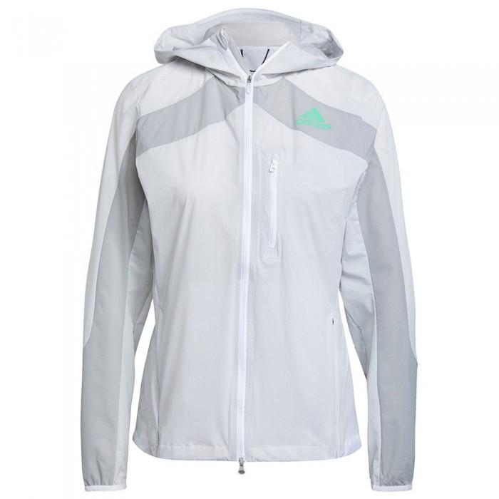 [해외]아디다스 Marathon Jacket 6138108706 White / Grey