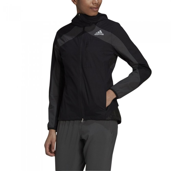 [해외]아디다스 Marathon Jacket 6138109912 Black / Grey Six