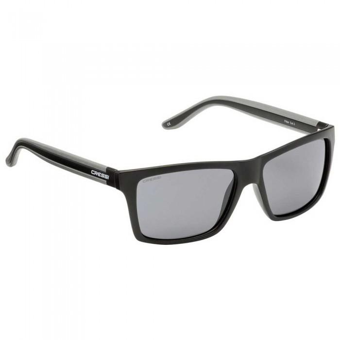 [해외]크레시 Rio Polarized Sunglasses 10137076320 Black / Dark Grey Lens