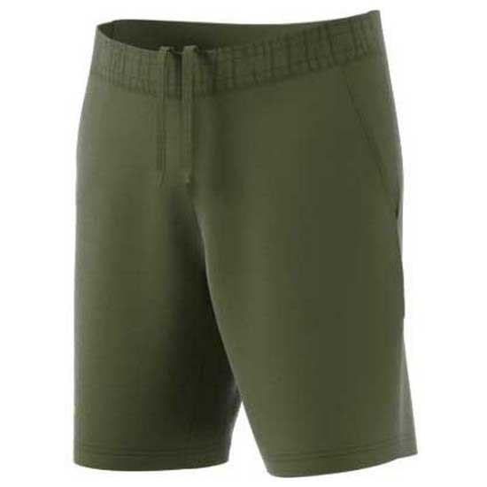 [해외]아디다스 BADMINTON Ergo Primeblue 9´´ Short Pants 12137841307 Wild Pine / Acid Yellow
