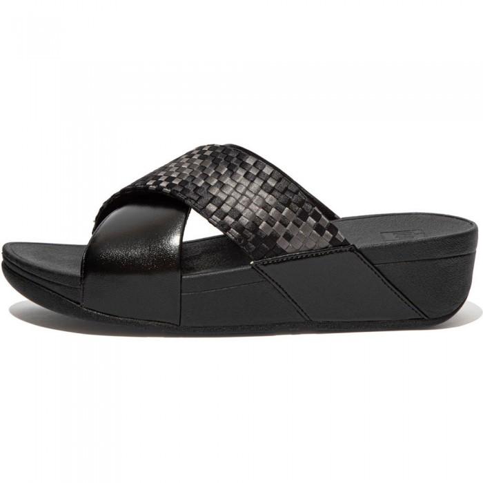 [해외]핏플랍 Lulu Silky Weave Shoes Black