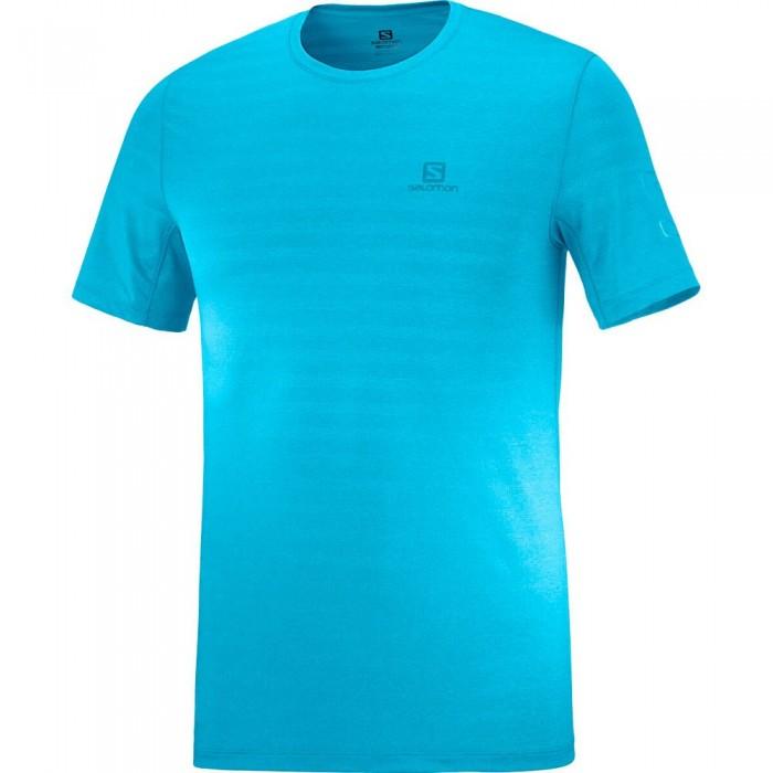 [해외]살로몬 XA Short Sleeve T-Shirt 5138167343 Turkish Til / Barrier Reef / Heather