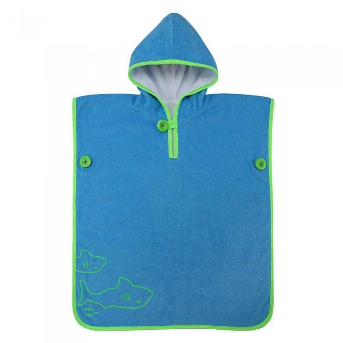 [해외]아쿠아스피어 Baby Towel Poncho 6138204215 Light Blue / Bright Green