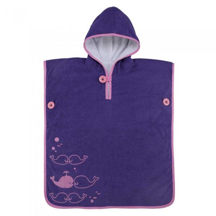 [해외]아쿠아스피어 Baby Towel Poncho 6138204216 Purple / Pink