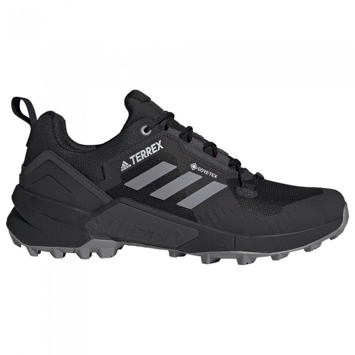 [해외]아디다스 테렉스 Swift R3 Goretex Trail Running Shoes 6137892311 Core Black / Grey Three / Solar Red