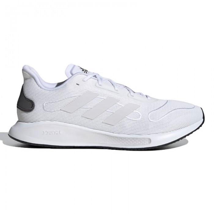 [해외]아디다스 Galaxar Run Running Shoes Refurbished 6138220151 Ftwr White / Ftwr White / Grey Five