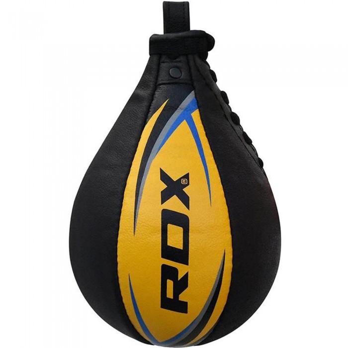 [해외]RDX SPORTS Speed Ball Leather Multi 7136639211 Yellow / Blue
