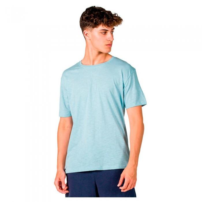 [해외]GSA Organic Cotton Crew Neck Short Sleeve T-Shirt 7138192714 Light Blue