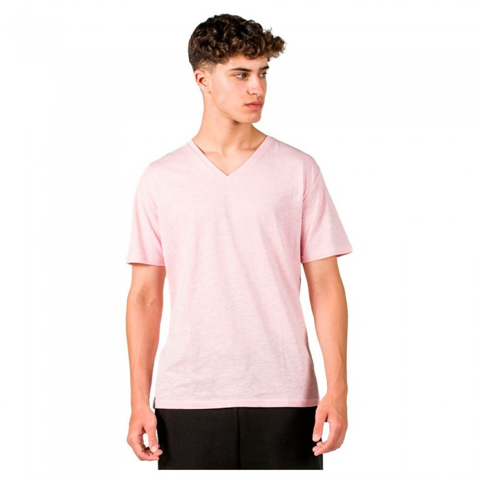 [해외]GSA Organic Cotton V Neck Short Sleeve T-Shirt 7138192722 Pink