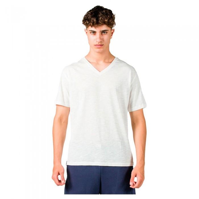 [해외]GSA Organic Cotton V Neck Short Sleeve T-Shirt 7138192723 Star White