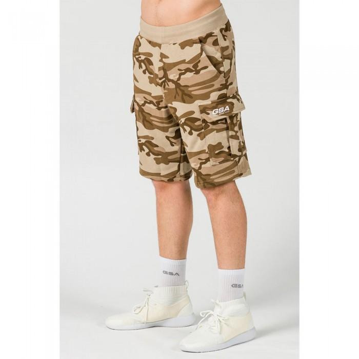 [해외]GSA OrganicPlus+ Cotton Camo Cargo Shorts 7138192724 Beige